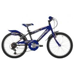 Vélo 20 pouces noir/bleu