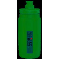 Elite bidon fly vert 550 ml