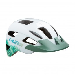 Casque Gekko Blanc Tropical